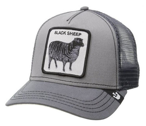 3698db031bb53 BLACK SHEEP Trucker Style Ball Cap - Unisex